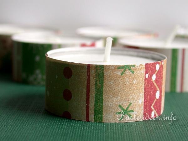 weihnachtsgeschenk ideen geschenkt te mit teelichtern. Black Bedroom Furniture Sets. Home Design Ideas