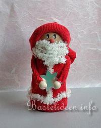 Kidsweb Weihnachtsbasteln.Basteln Weihnachten Nikolaus Weihnachtsmann Bastelideen