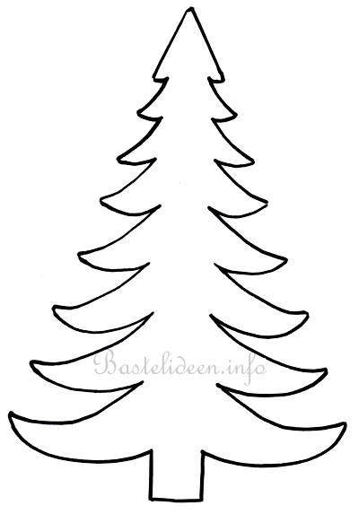 weihnachtsbasteln weihnachtsbaum bastelvorlage. Black Bedroom Furniture Sets. Home Design Ideas