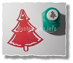 Winterlandschaft weihnachtskarte b - Weihnachtsbaum schablone ...