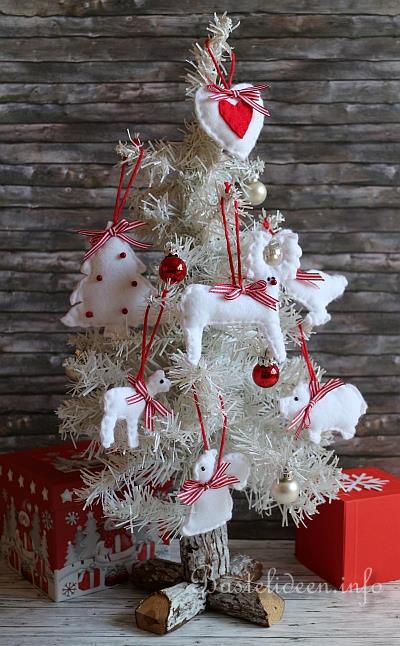 basteln und n hen zu weihnachten weihnachtsbaumanh nger. Black Bedroom Furniture Sets. Home Design Ideas
