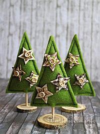 kostenlose bastelvorlage weihnachtsbaum aus filz. Black Bedroom Furniture Sets. Home Design Ideas
