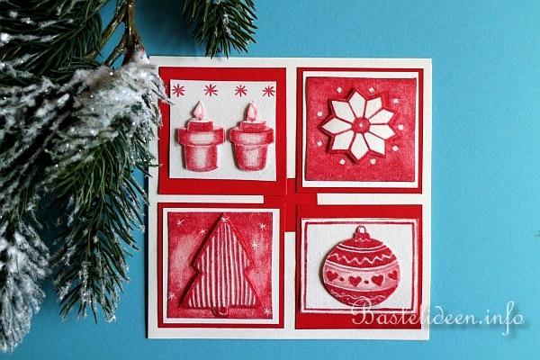 karten basteln zu weihnachten bordeaux weihnachtskarte. Black Bedroom Furniture Sets. Home Design Ideas