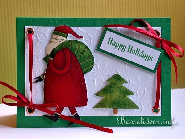 karten weihnachten basteln diy geschenke f r weihnachten. Black Bedroom Furniture Sets. Home Design Ideas