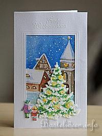 Gebastelte Weihnachtskarten.Weihnachtskarten Basteln Karten Zu Weihnachten Gestalten