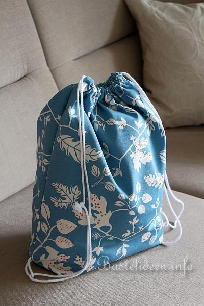 naehen mit stoff kinder rucksack